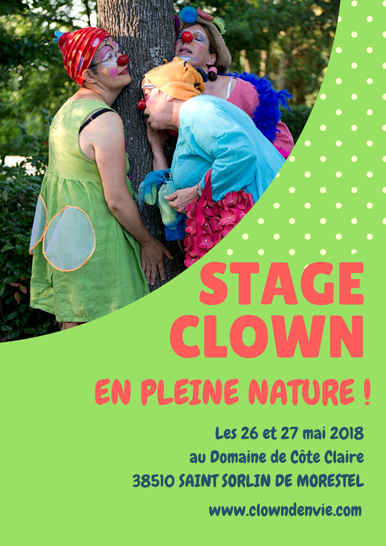 Stage clown en pleine nature 2