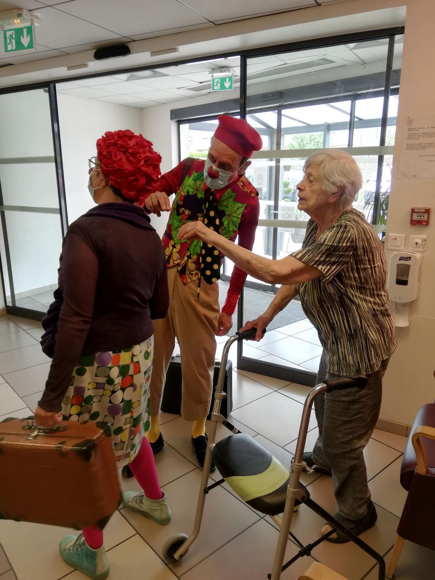 Clowns en milieu de soins