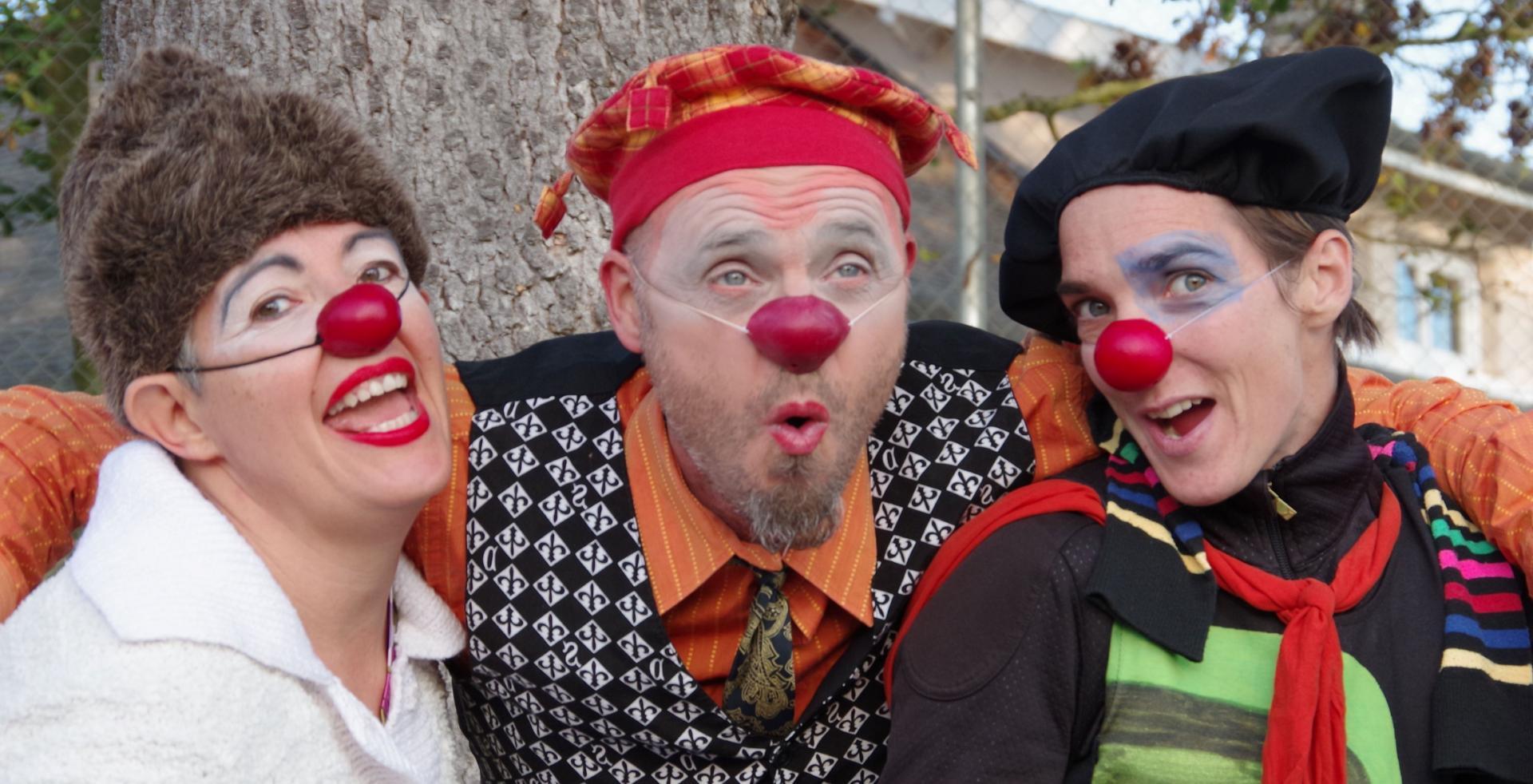 Nouk, Panini et Ratatouille (L'Entrepôt Clown)