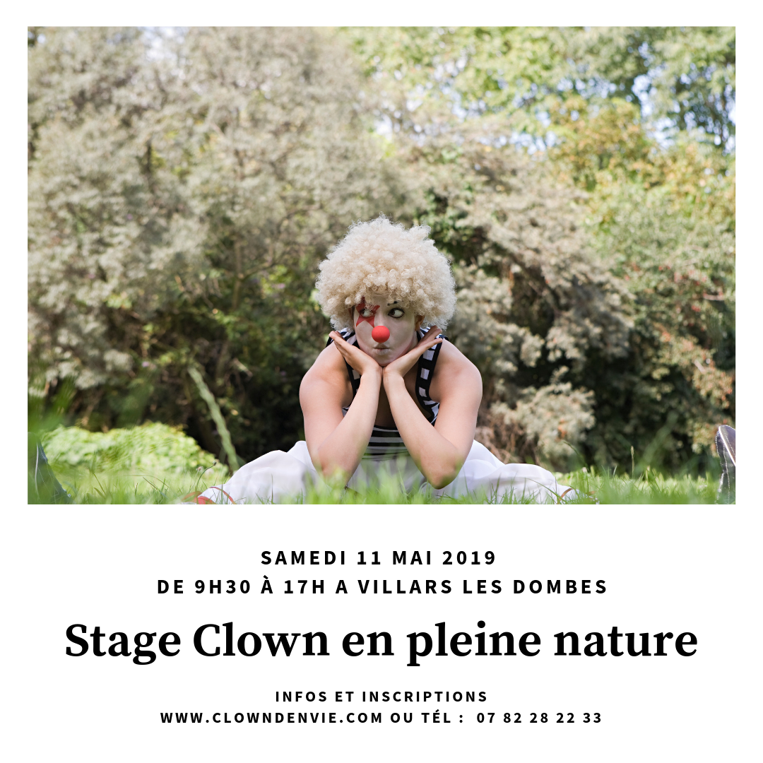 Stage clown en pleine nature 1