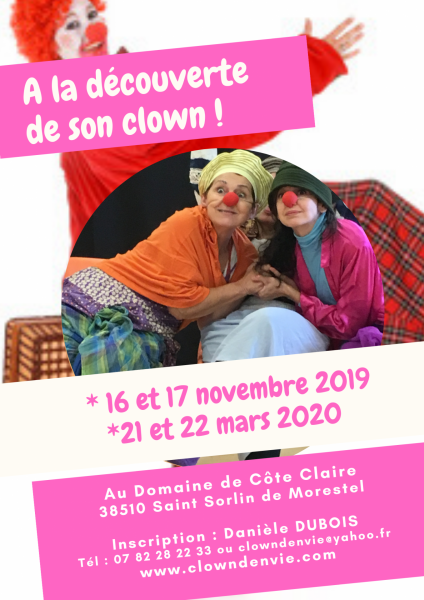 A la découverte de son clown
